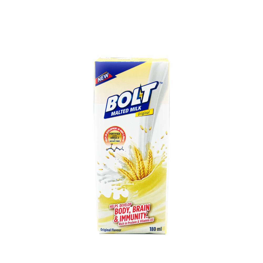 Bolt Malted Milk Original 180ml