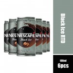 Nescafe Black Ice Coffee 180ml (Can)**Buy 12pcs Get 1 Waist Pouch**18.09.21 to 30.09.21**
