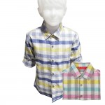 Kidsplanet Child Boy Shirt L/S No-2903SB Size-3Y to 5Y (Age-3 to 5 Years)