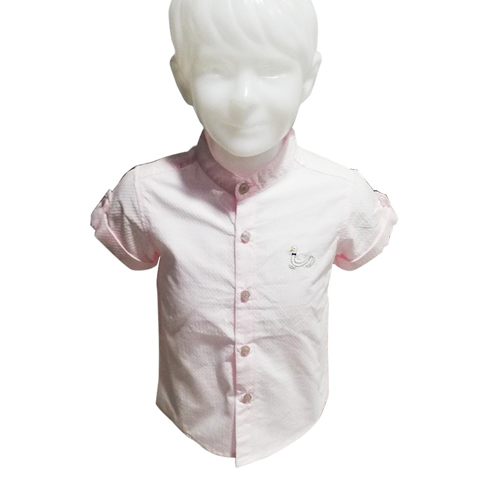 Kidsplanet Child Boy Shirt S/S No-2705SA Size-12M to 2Y (Age-1 to 2 Years)