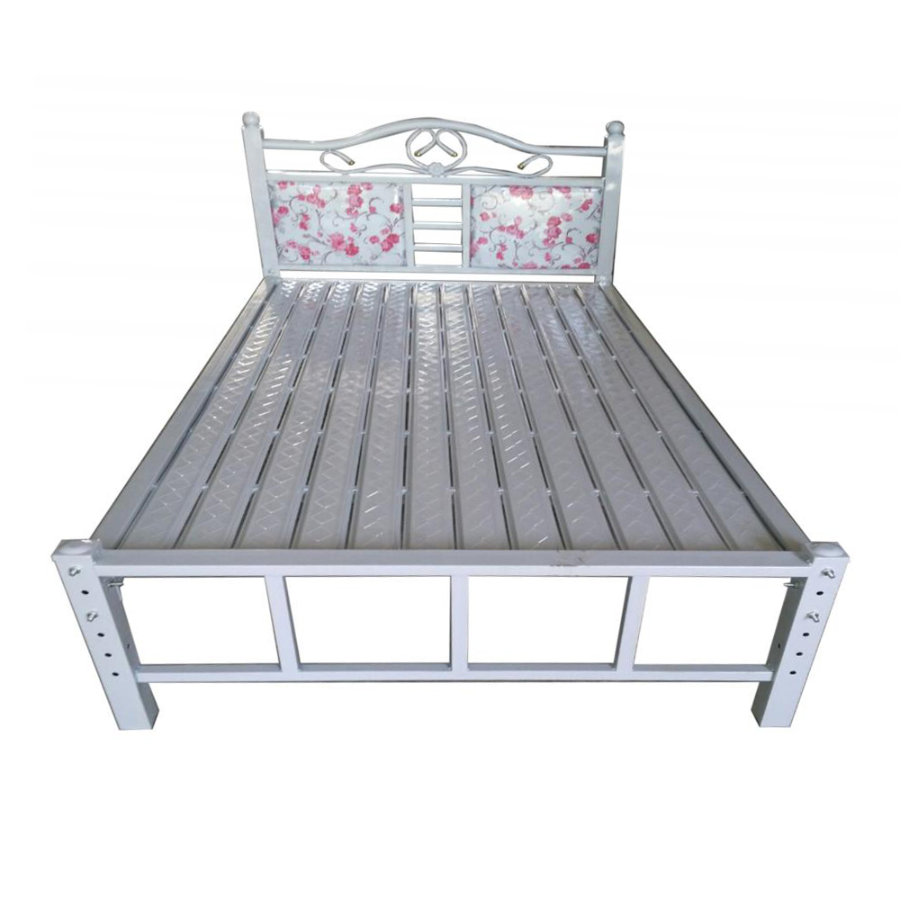 "New World Iron Duo Bedstead 8026K Size-72""x80""x18.5"""
