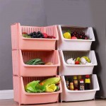 Easy Life Kitchen Use Shelf 3 Storages