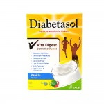 Diabetasol Balanced Nutrition For Diabetic Vanilla Flavour 180g** Buy 2 boxes Get 1 Pcs (Glass Cup Small)**01.07.21 To 30.07.21**