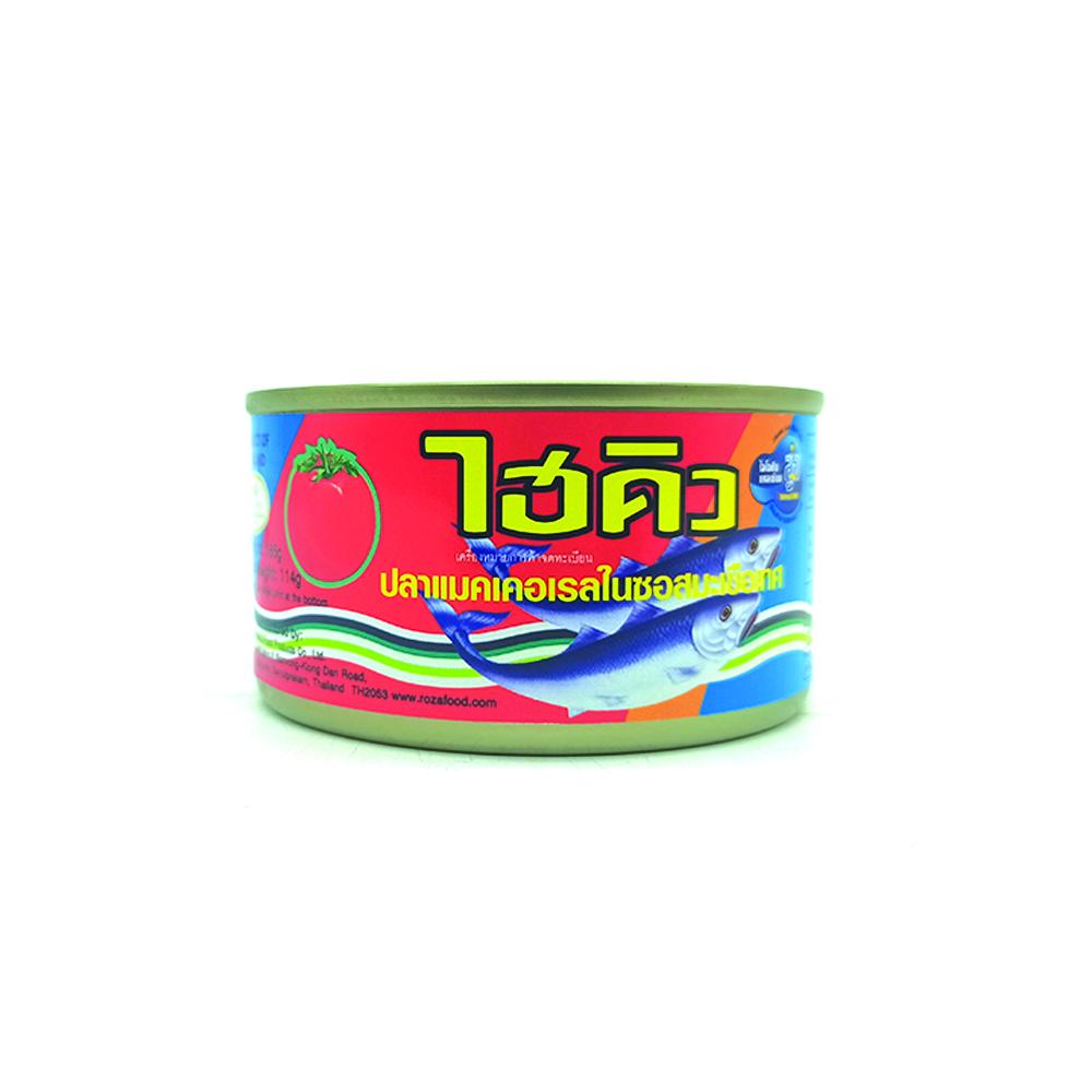 Hi-Q Mackeral In Tomato Sauce 185g