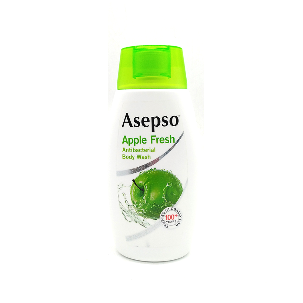 Asepso Anti-Bacterial Body Wash Apple Fresh 250ml