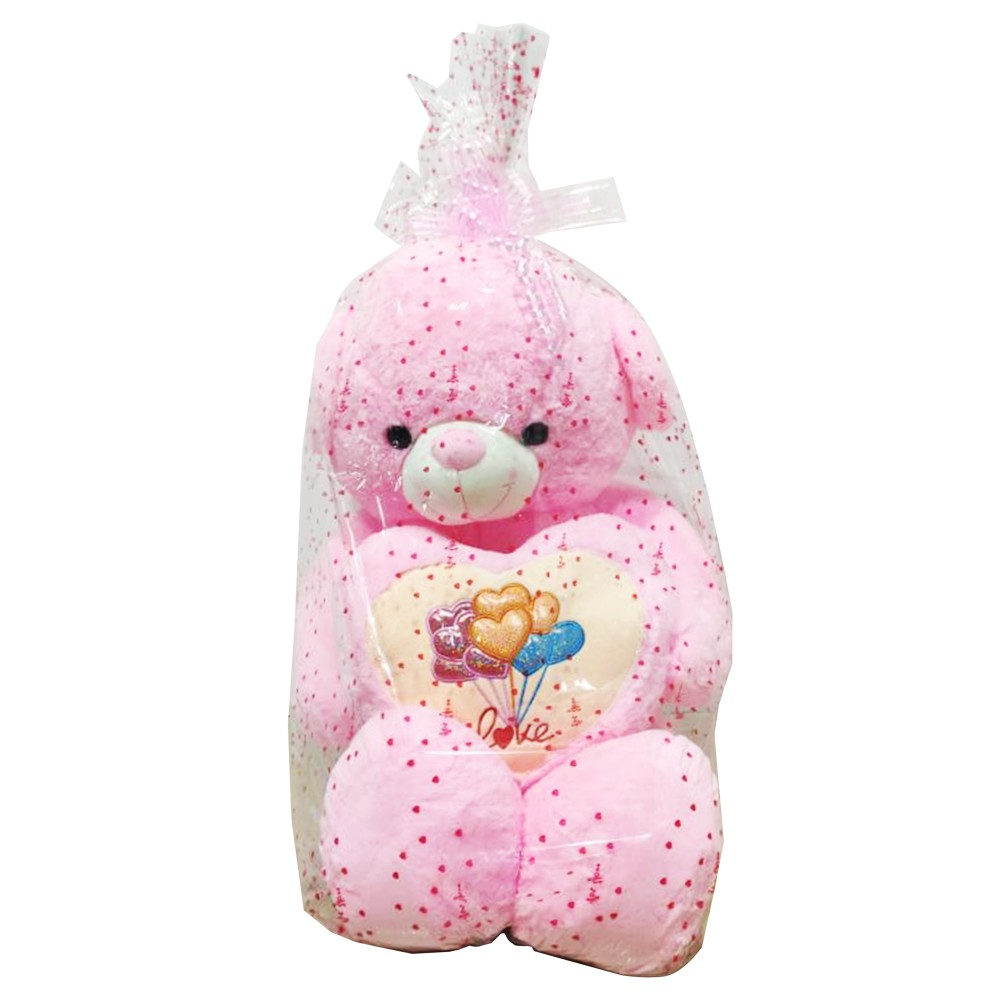 """Bear Character Doll With Heart 2' 6"""""""