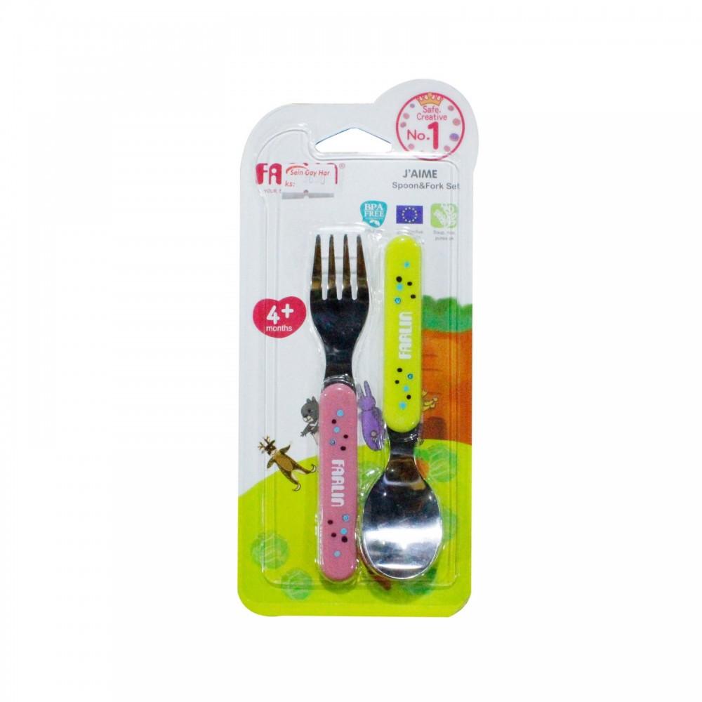 Farlin Spoon & Fork Set BF-247