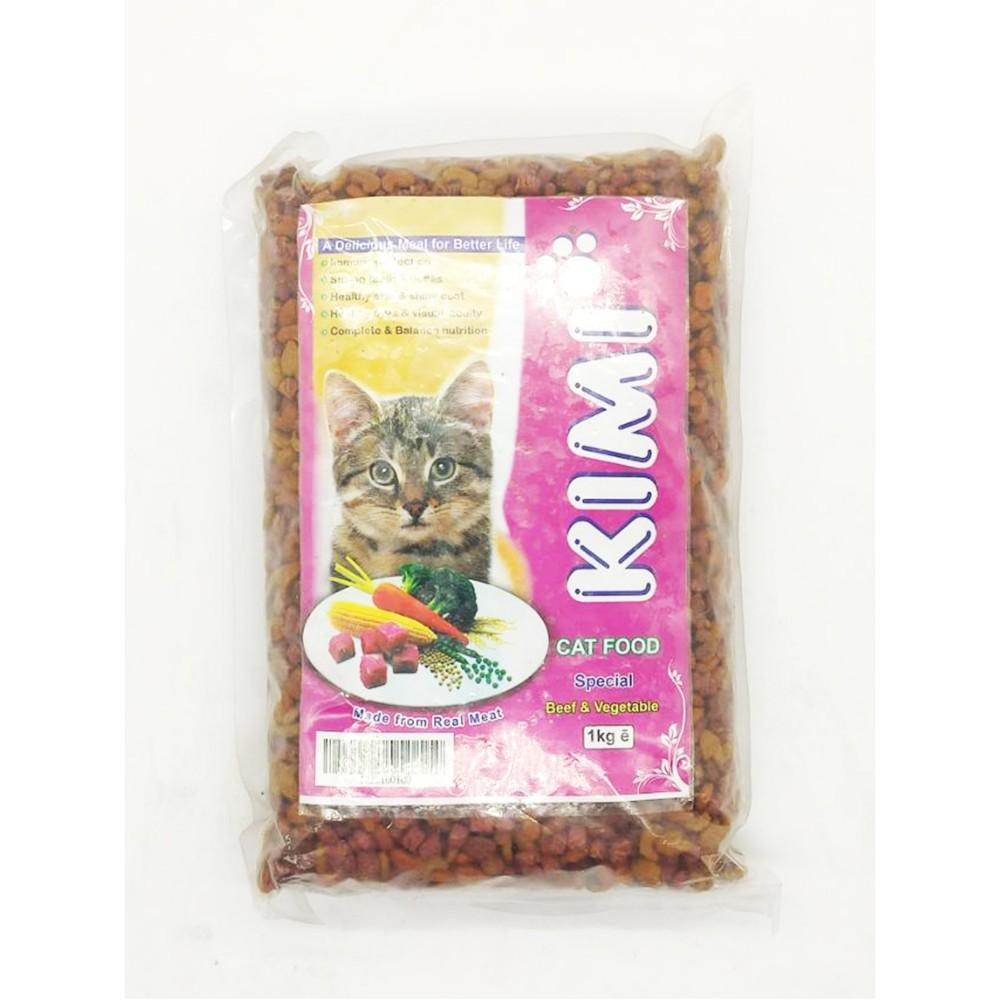 Kimi Cat Food Special Beef & Vegetable 1kg