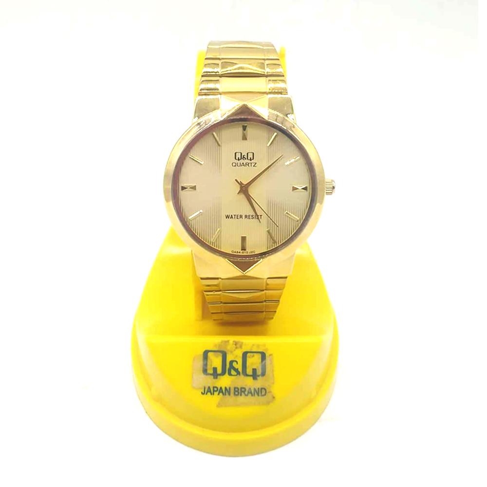 Q&Q Men Watch WA-10818 (Gold)