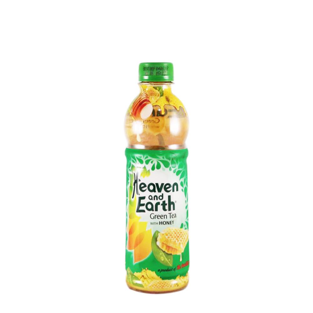 Heaven and Earth Green Tea With Honey 350ml