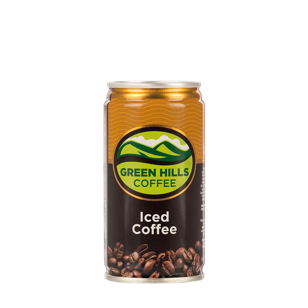Green Hills Iced Coffee 180ml (Can)