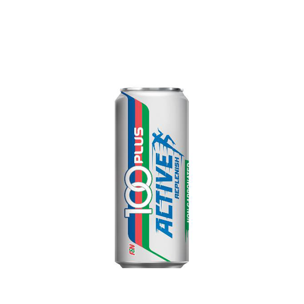 100 Plus Isotonic Drink Active 300ml (Can)