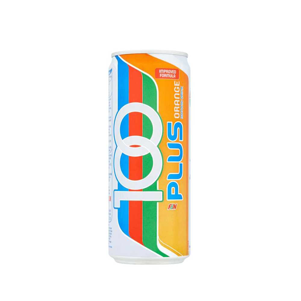 100 Plus Isotonic Drink Orange 325ml (Can)