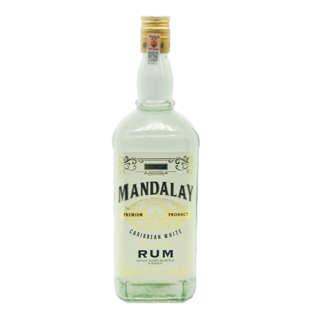 Mandalay Caribbean White Rum 1ltr
