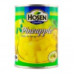 Hosen Pineapple Cubes In Syrup 565g