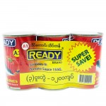 Ready A1 Sardines In Tomato Sauce 3's 465g