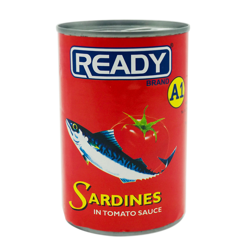 Ready A1 Sardines In Tomato Sauce 425g