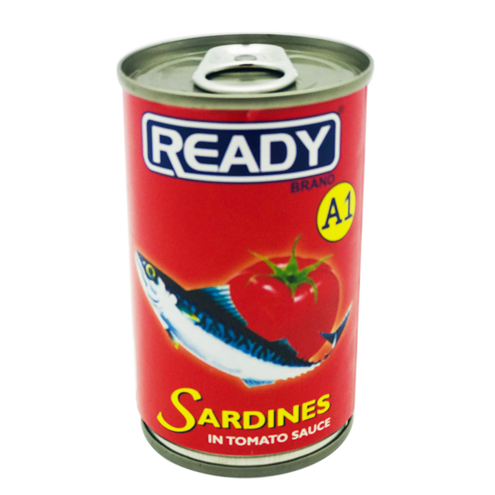Ready A1 Sardines In Tomato Sauce 155g