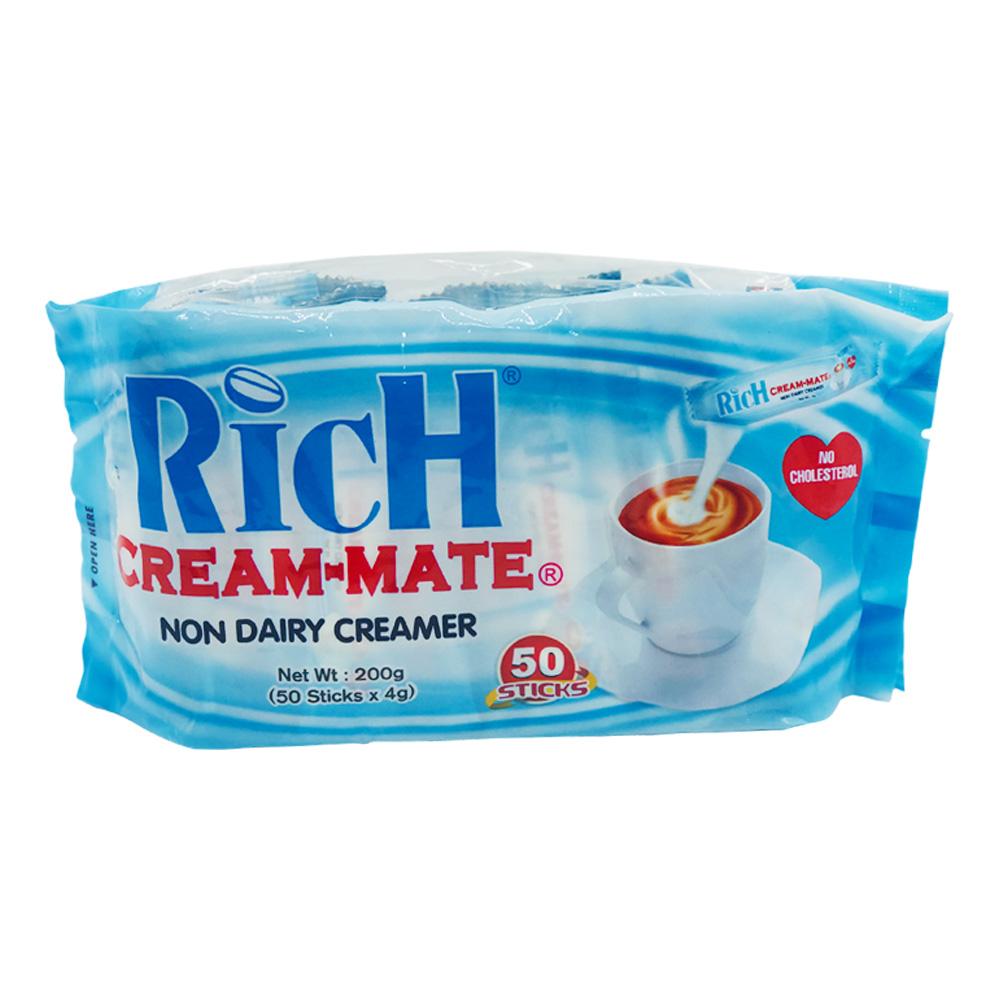 Rich Cream-Mate Non-Dairy Creamer 50's 200g