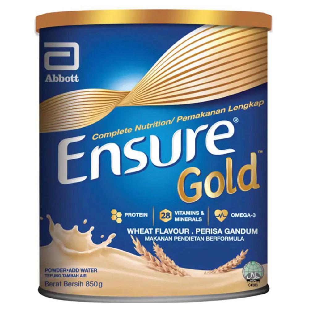 Ensure Gold Adult Milk Powder Wheat 850g