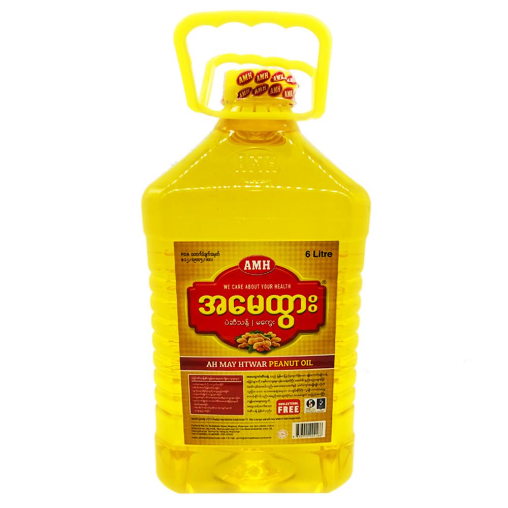 Ah May Htwar Peanut Oil 6ltr