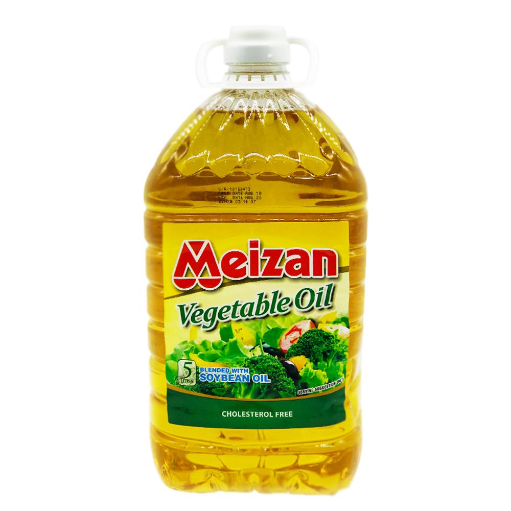Meizan Vegetable Oil 5ltr