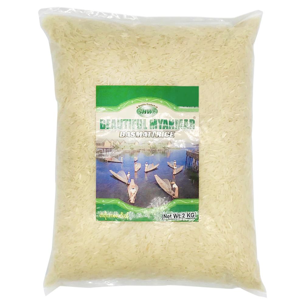 Beautiful Myanmar Basmati Rice 2kg