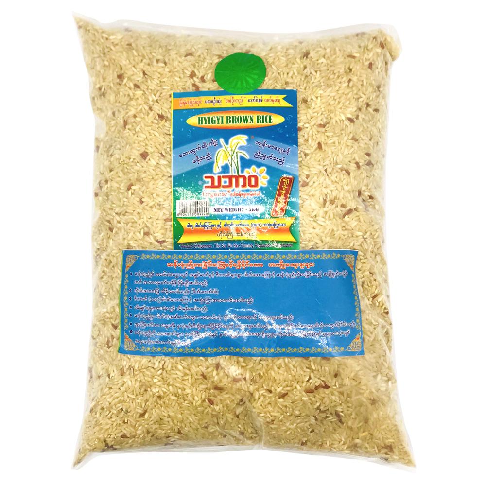 Certified Organic Hyigyi Brown Rice 5kg