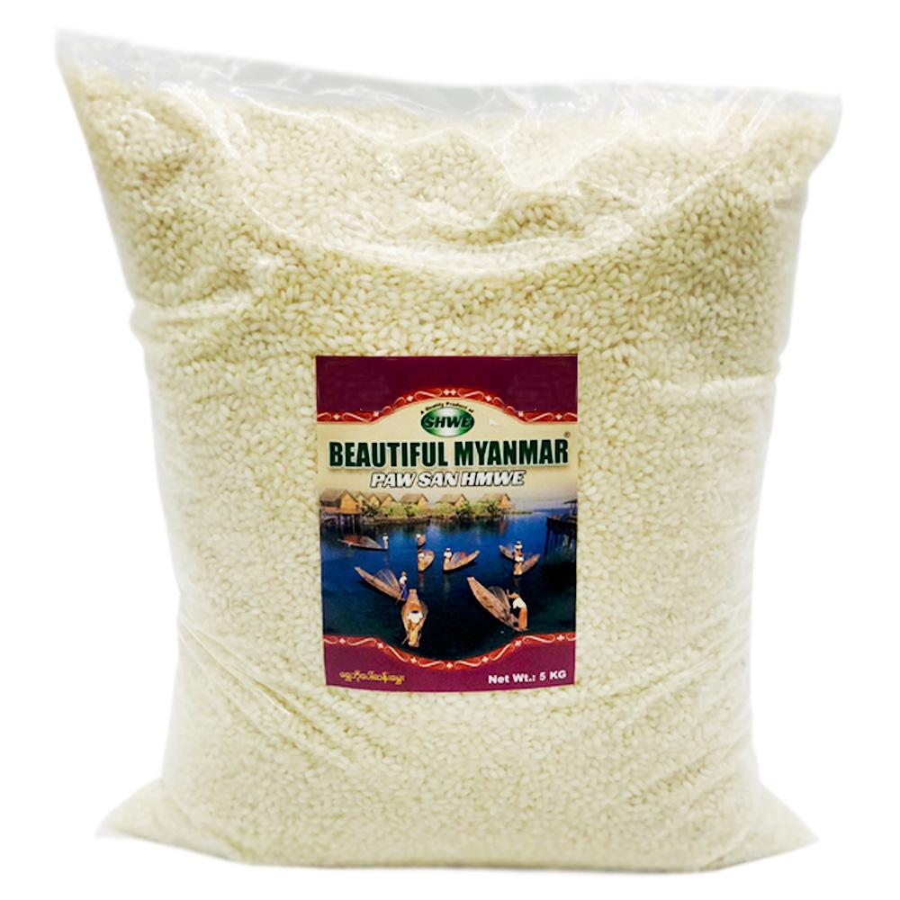 Beautiful Myanmar Shwe Bo Paw San Hmwe Rice 5kg