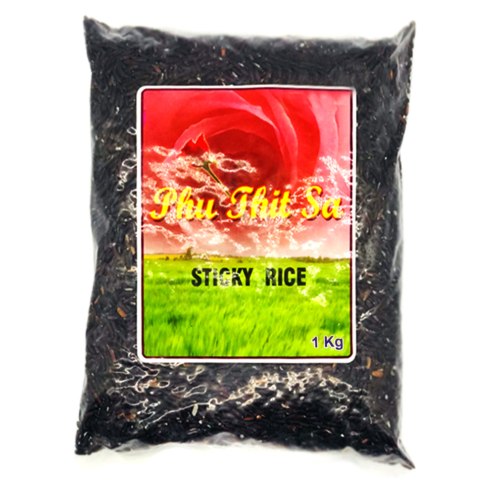 Phu Thit Sa Sticky Rice (Black) 1kg