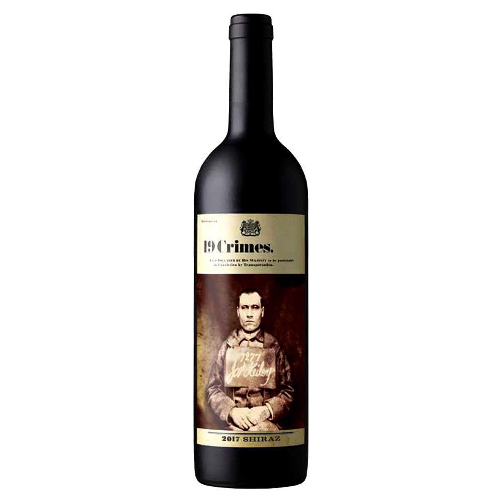 19 Crimes Wine 2017 Shiraz 750ml