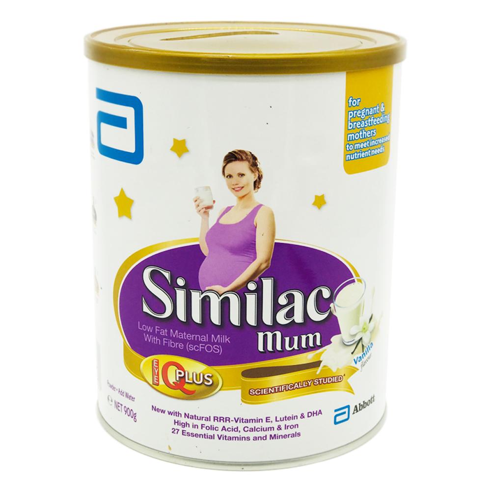 Similac Mum Milk Powder Vanilla 900g