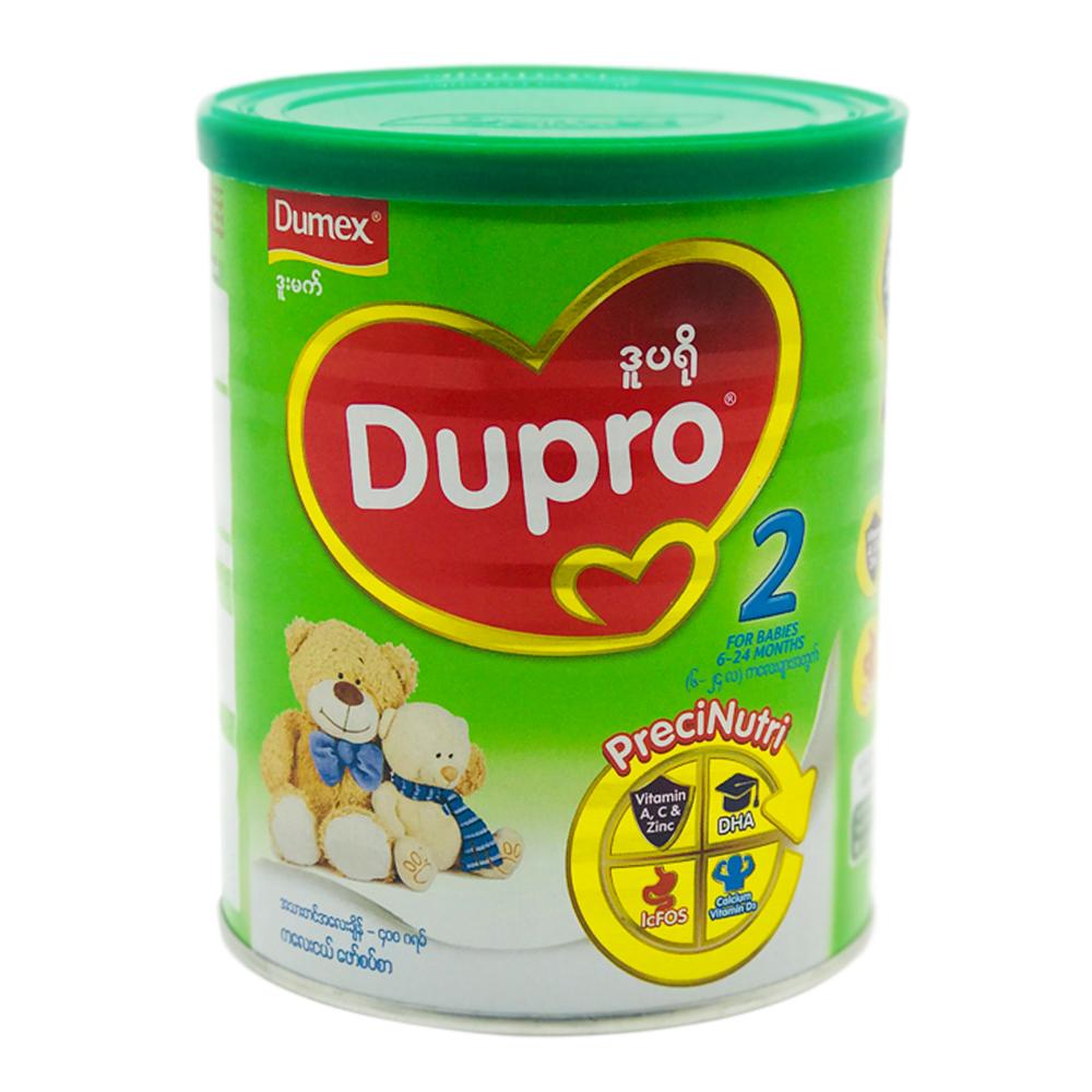 Dumex Dupro Baby Milk Powder Step 2 (6 to 24 Months) 400g