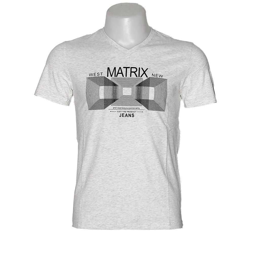 Matrix Men T-Shirt S/S White MT-2020