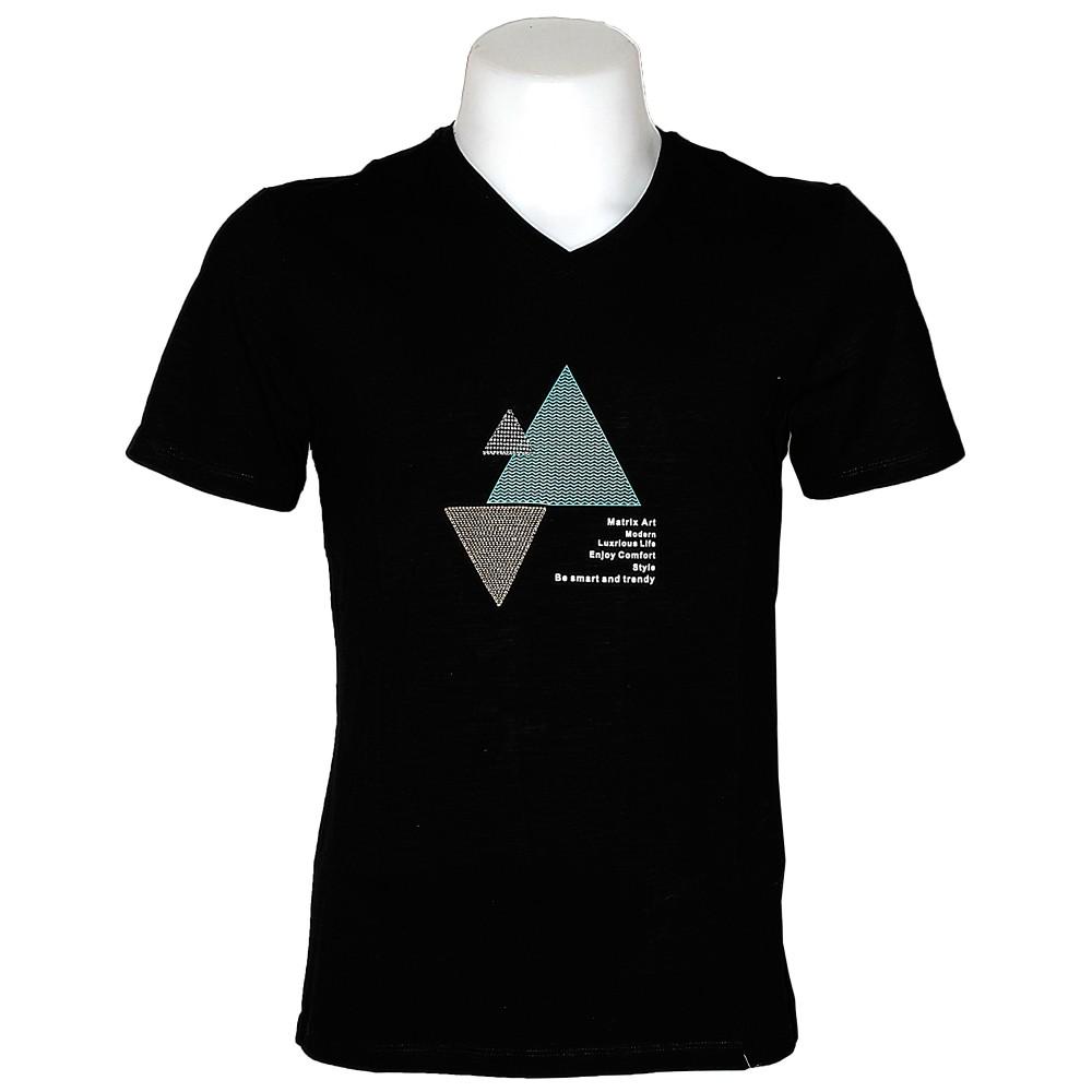 Matrix Men T-Shirt S/S Black MT-2020-2