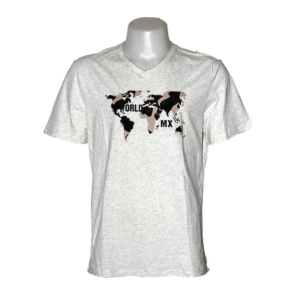 Matrix Men T-Shirt S/S White MT-2020-2