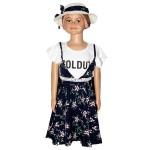 Child Girl Dress S/S Black BH-27196