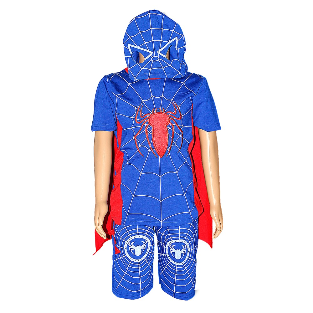 Child Boy Spider Short O/S DCH-4045