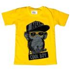 Child Boy T-Shirt S/S Yellow BCH-2020