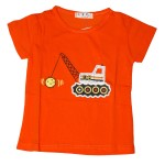 Child Girl T-Shirt S/S Red COH-2020