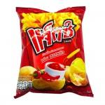 Calbee JAXX Potato Snack With Chilli Sauce 55g