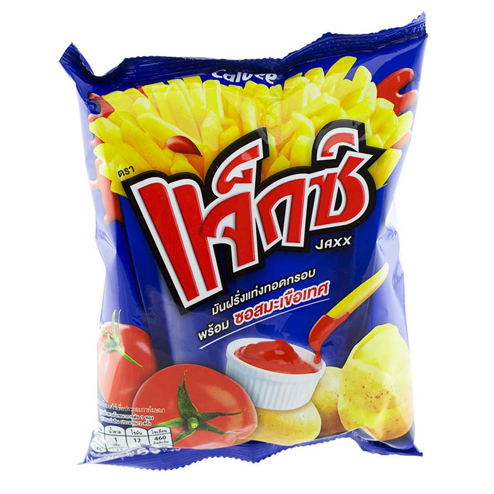 Calbee JAXX Potato Snack With Tomato Sauce 55g