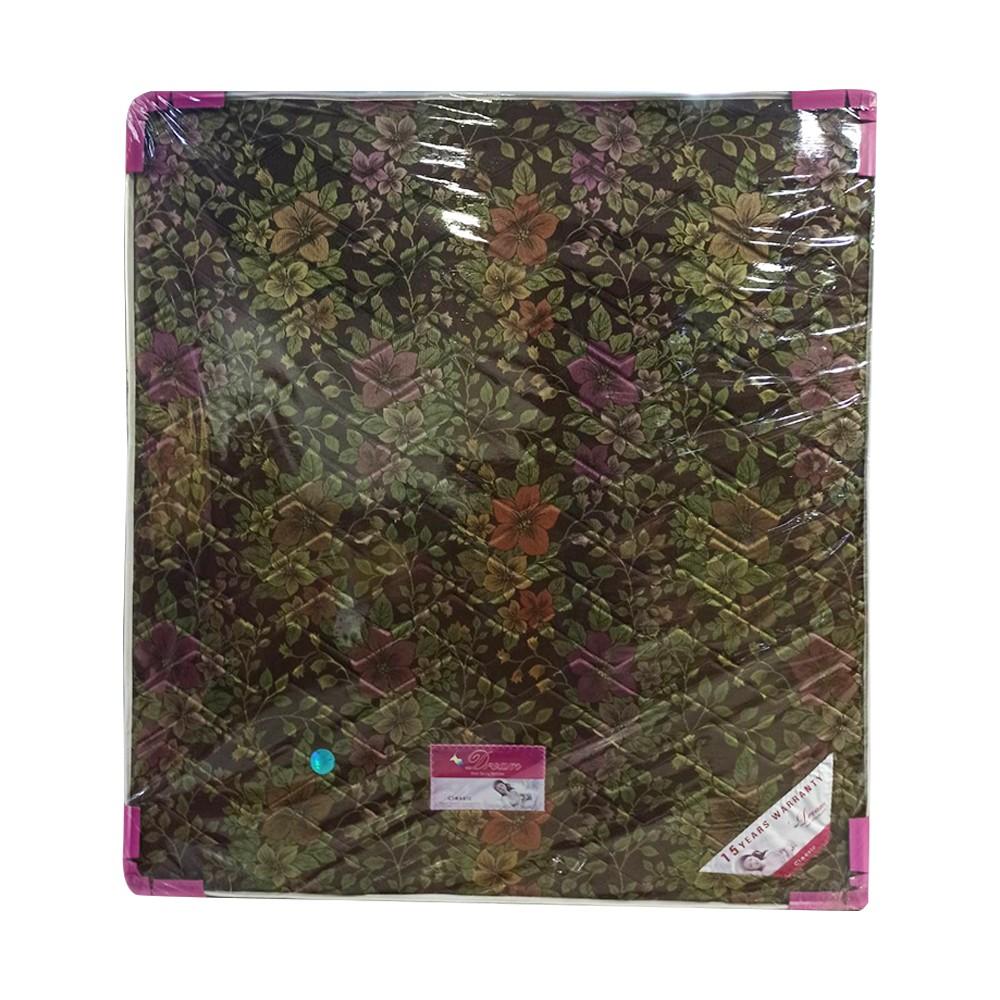 "Dream Spring Mattress DGO-91 Gold (Size-6' x 6' 6"" x 9"")"
