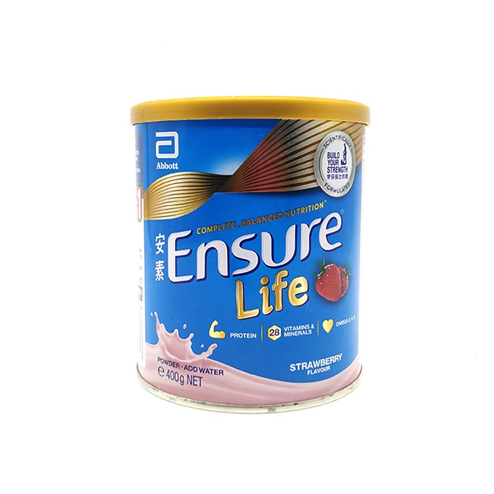 Ensure Life Adult Milk Powder Strawberry 400g