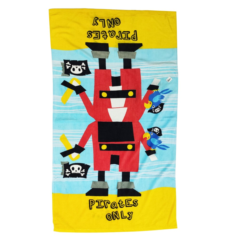"""Pirates Only Towels Sein Velour 29""""x56"""""""