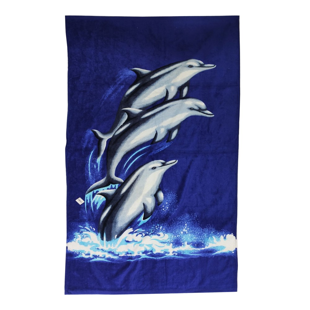 "Dolphin Towels Sein Velour 31""x59"""
