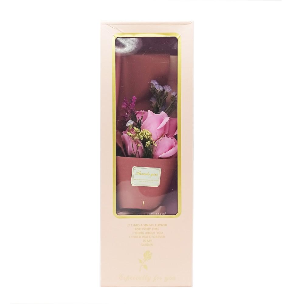 Rose Flower Bouquet Box No-0713406