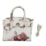 Michelle Women Sling Bag White/Pink/Blue Flower No.888