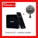 Canal Plus DTT Complete Kit Decoder 6Antenna
