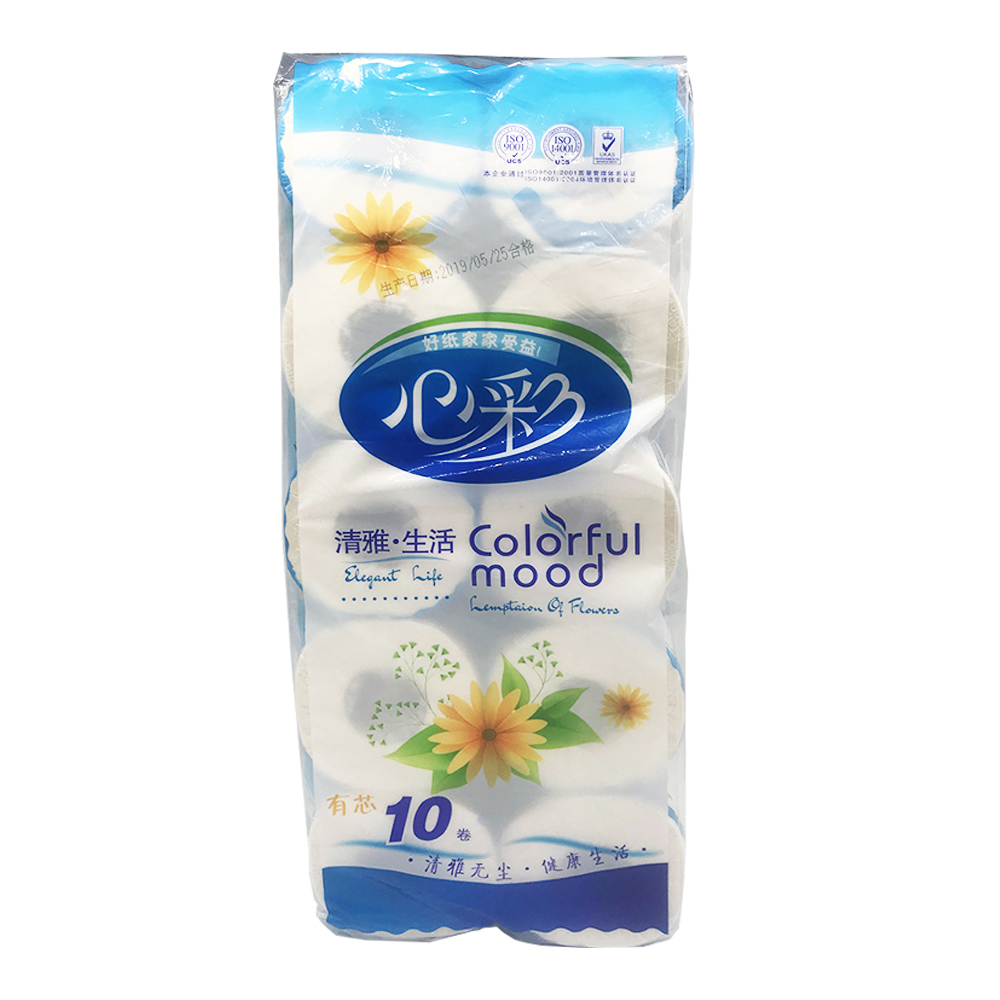 Colorful Mood Bathroom Tissue 10Roll XC-078